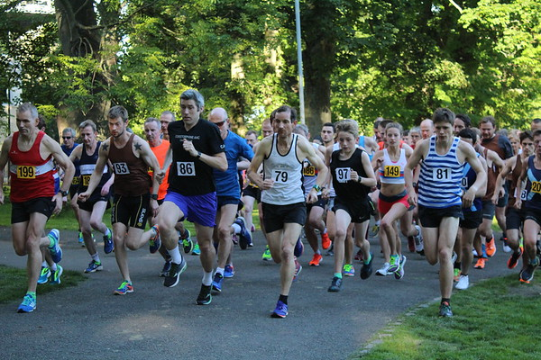 Sri Chinmoy Races 2 miles, Wednesday 12 July 2017, The Meadows, Edinburgh