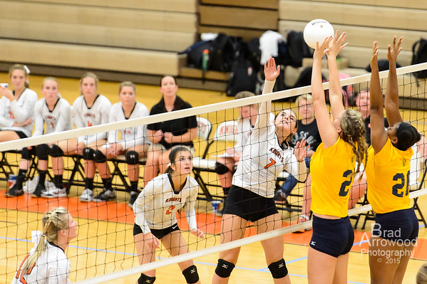 NDHS Vollleyball vs Mount Tabor 2015