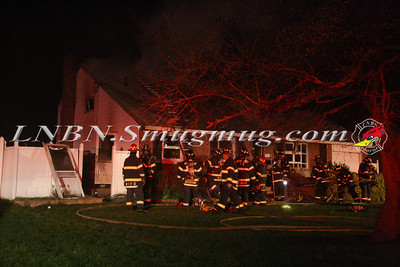 West Islip F.D. House Fire 785 Pine Ave. 4-6-12