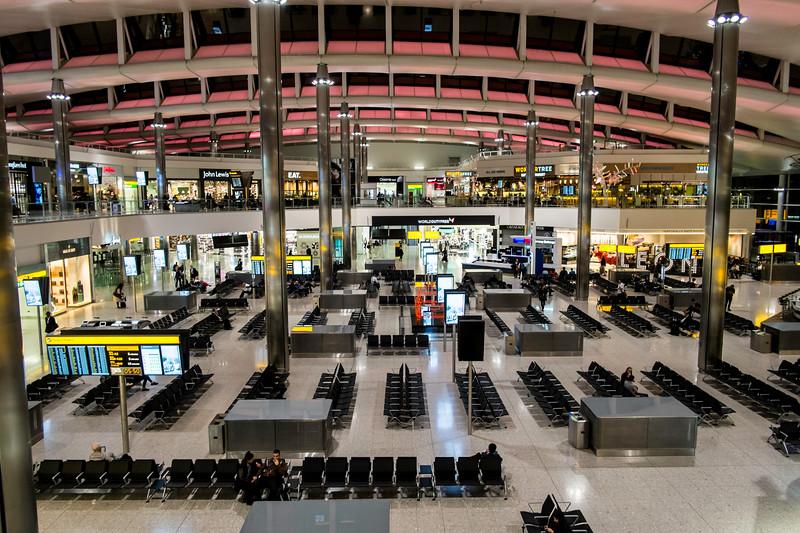 Terminal 2, Heathrow Airport, London, United Kingdom