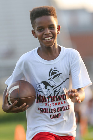 Northwood Football Skillz and Drillz Camp:  Wednesday