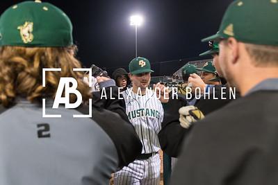 2018 Cal Poly Baseball vs Dartmouth Game 2