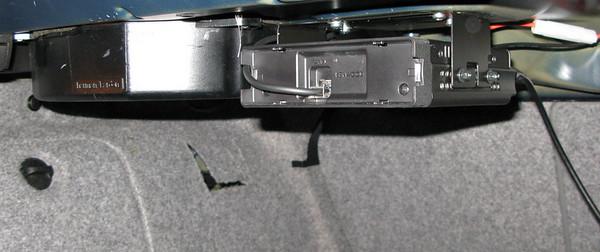 Mobile ham radio rig