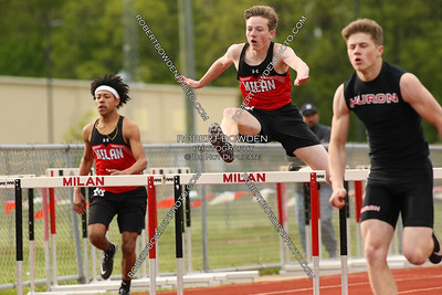 Milan - Huron League Meet 21 May 2019