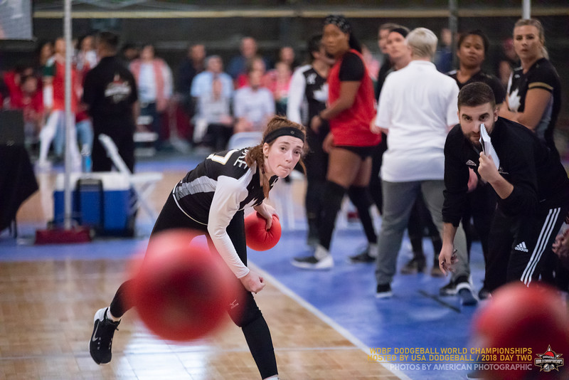 Dodgeball World Championships 2018 Day Two