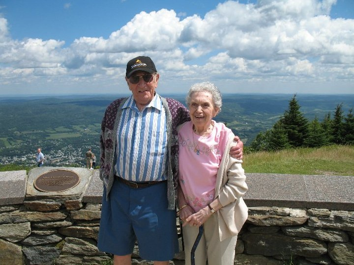 """. \""""May my grandparents look down on me each and every day and continue to love and support me<3 I miss you both so dearly, oh what I would do to see you again. Happy Grandparents Day Gram and Gramp I love and miss you so much xoxoxo!\"""" Photo submitted by Amanda"""