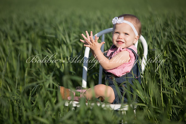 Ansley at one year