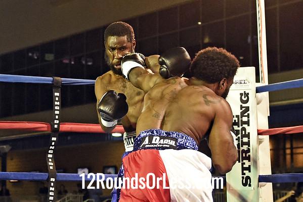 Bout 8 Wesley Tucker, Toledo -vs- Evincii Dixon, Lancaster, Welterweight