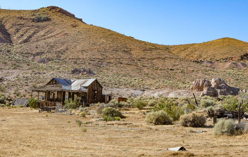 Deserted mining town near Rosamond, CA