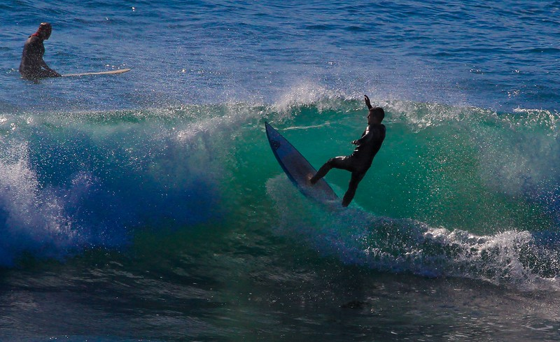 This was the only keeper photo from Saturday due to the sun position and smaller waves. Sunday was much better.