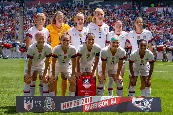 5/26/2019 - USWNT vs. Mexico