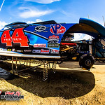 East Bay Raceway Park - Lucas Oil Late Model Dirt Series - 1/25/21 - Heath Lawson