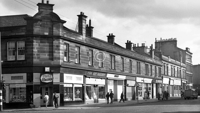 Eglinton St, east side, south of Turriff St.    August 1973