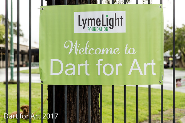 LymeLight Foundation | Dart for Art 2017