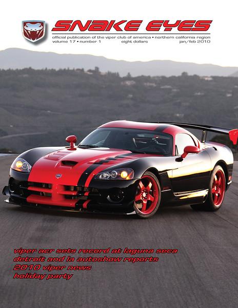 Snake Eyes Cover - Jan/Feb 2010
