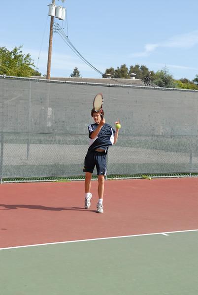 2007 - Menlo Boys Tennis - Senior - David