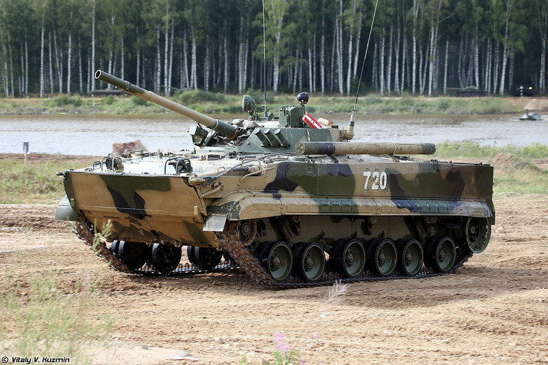 БМП-3 (BMP-3 infantry fighting vehicle)