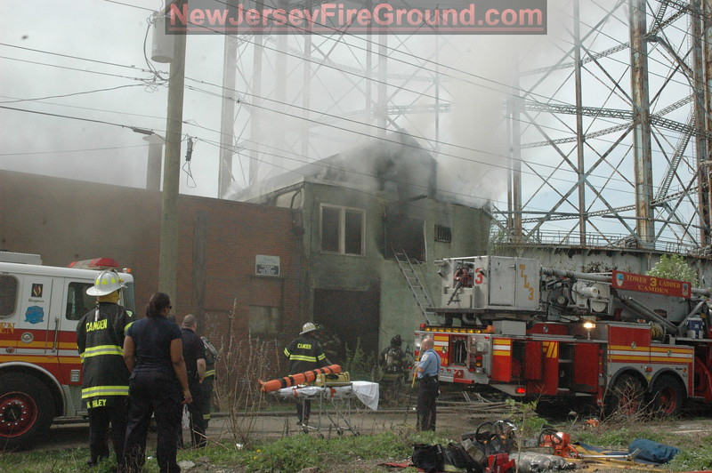 4-6-2010(Camden County)CAMDEN 300 blk. Cherry St.- 3rd Alarm Fatal Building
