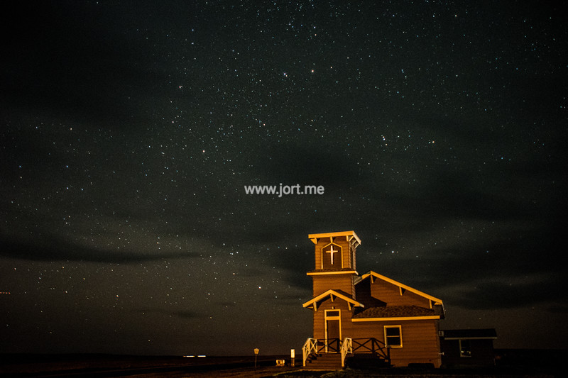 Little Church under the stars