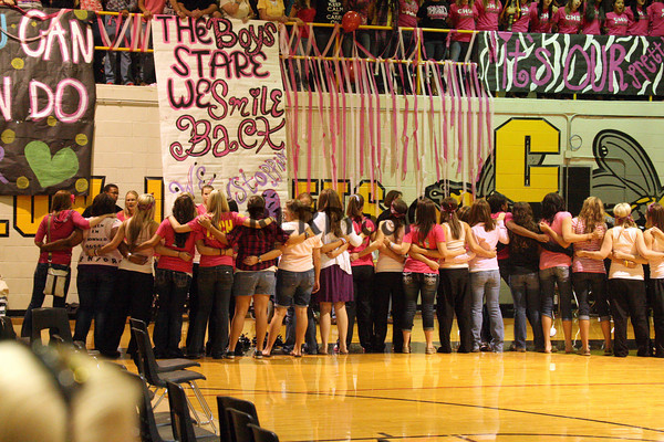 Cleburne Pep Rally Oct 15, 2010