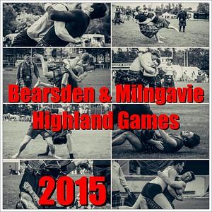 2015 Bearsden & Milngavie Highland Games