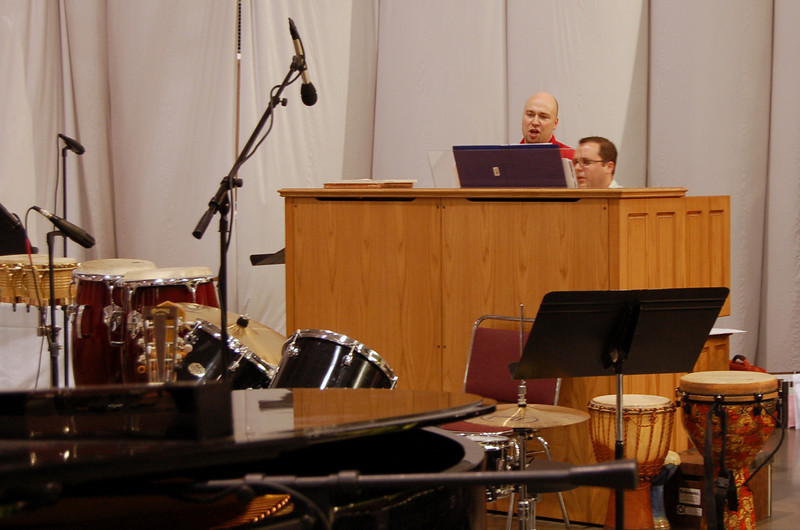 Musicians at Friday's service of Word and Sacrament.