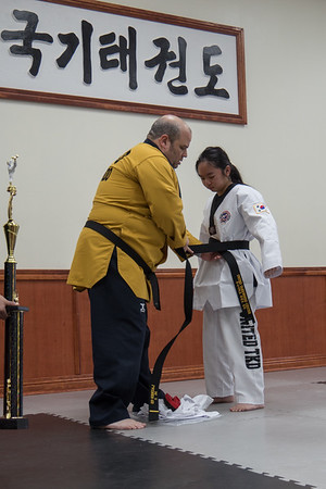 Lauren's 1st Degree Black Belt Promotion