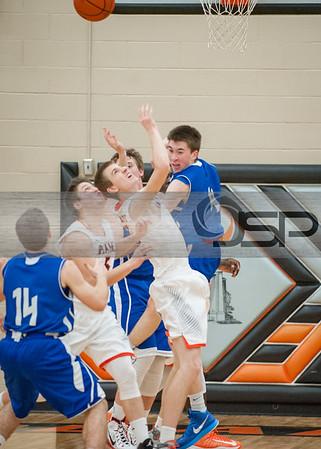 2015-1-8 Sedro Woolley at Blaine Basketball