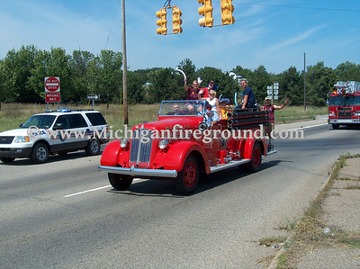 8/13/06 - Great Lakes Burn Camp escort