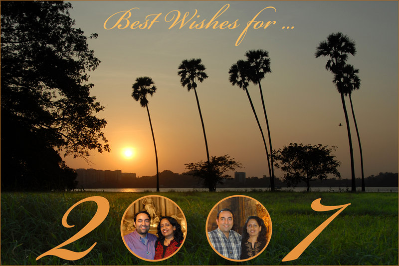 Best Wishes for 2007. Seasons's Greetings.