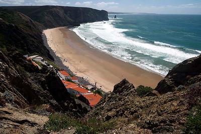 Thursday 31 March 2016 : Praia da Bordeira and Praia da Arrifana, Aljezur, and Odiaxere. Algarve