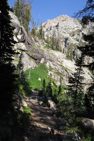 Heading down Paintbrush Canyon