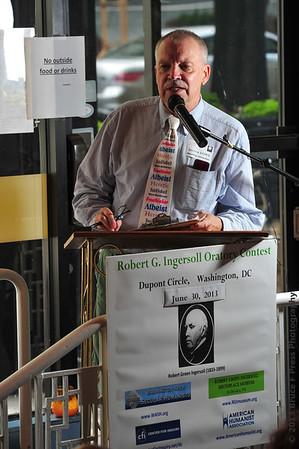 Robert G Ingersoll Oratory Contest 2013
