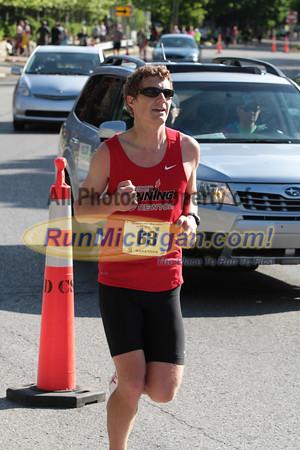 Marathon Finish - 2014 Charlevoix Marathon
