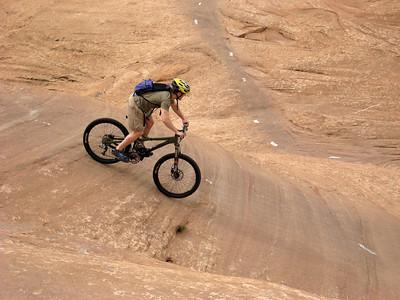Moab Slickrock Biking: May 13, 2007