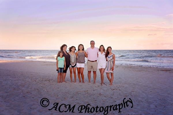 The Bryant Family - Folly Beach