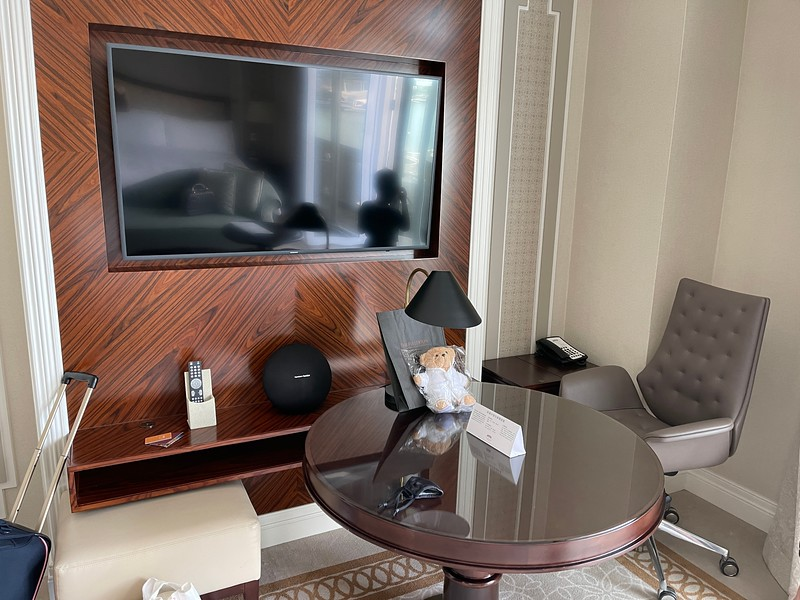 Fullerton Hotel Marina Bay View Room