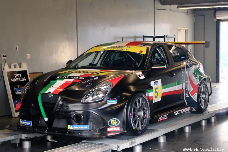 TCR-KMW Motorsports with TMR Engineering Alfa Romeo Giulietta TCR