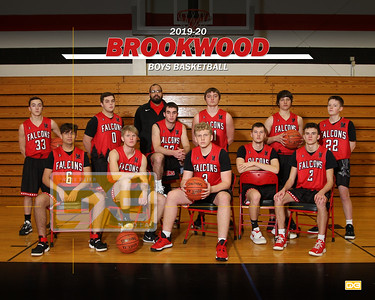Brookwood boys basketball BBB1920