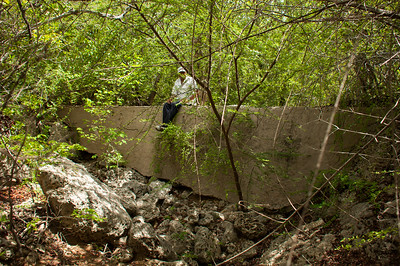 The nameless ravine between Hermanus and Meiberg