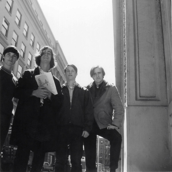 Mike, Drew Gilbride, Jim and Terry Jim, 1970 San Francisco, CA