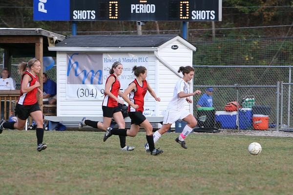 Girl's Varsity vs South Charleston, 9/30
