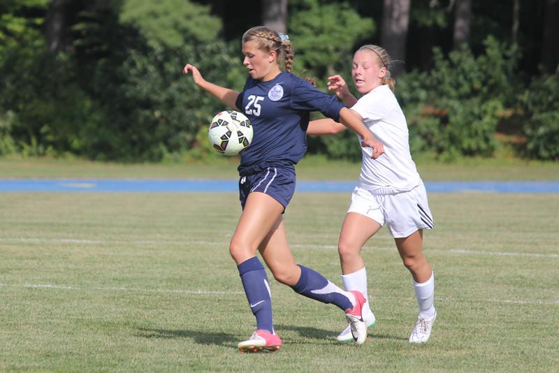 Girls Soccer vs. Milton 9/10/14