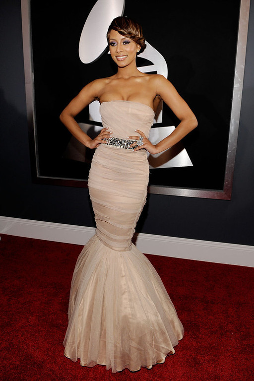 . Singer Keri Hilson arrives at the 52nd Annual GRAMMY Awards held at Staples Center on January 31, 2010 in Los Angeles, California.  (Photo by Larry Busacca/Getty Images for NARAS)