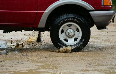 Photos: Rain in Lyons