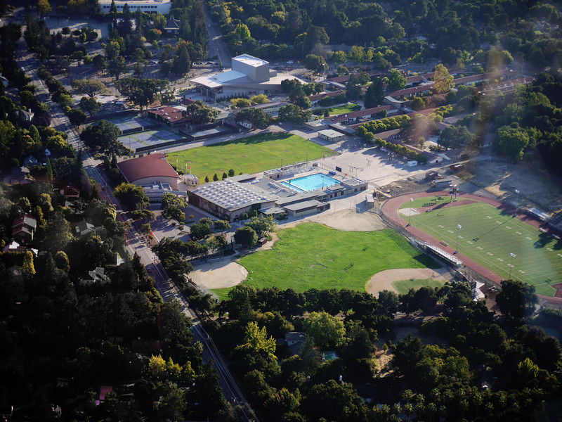 Menlo-Atherton High School.