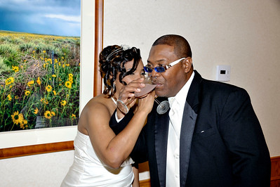 Dena Latrice  Sutton &  Blythe Tyrone Tyson Wedding