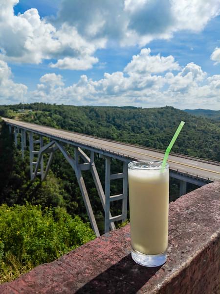 Bridge Varadero to Havana pina colada.jpg
