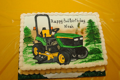 Noah's Third Birthday party