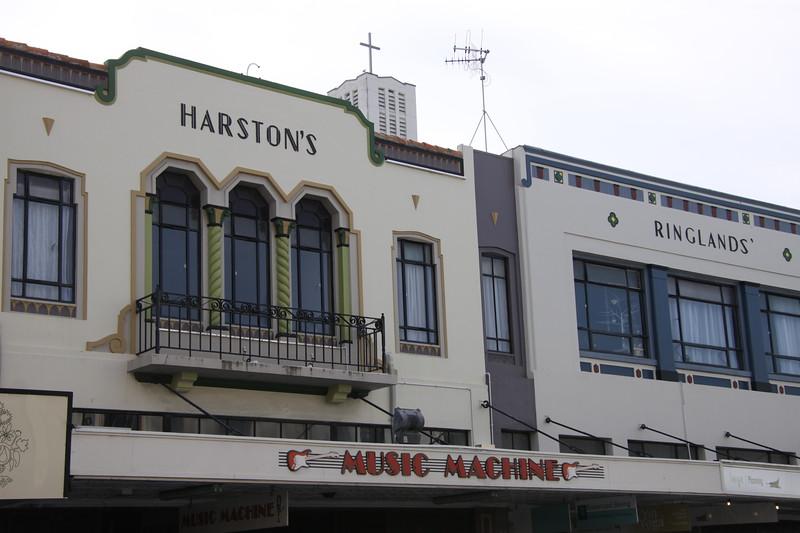 Art deco architecture of Napier